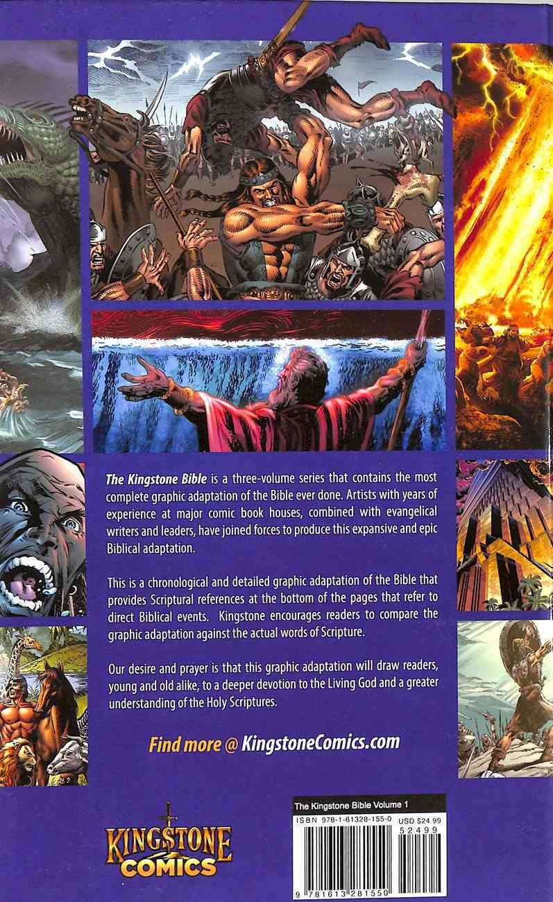Kingstone Comic Bible Trilogy (Kingstone Graphic Novel Series) Hardback