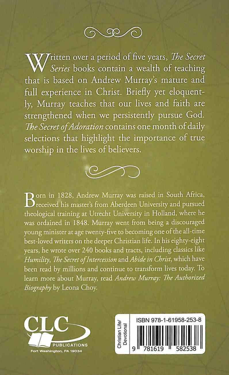 The Secret of Adoration (The Secret Series) Paperback
