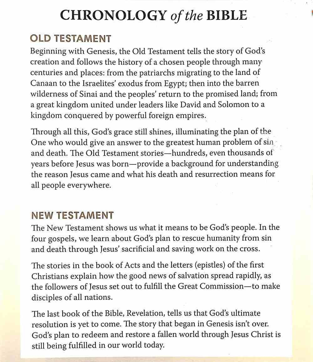 Chronology of the Bible Pamphlet