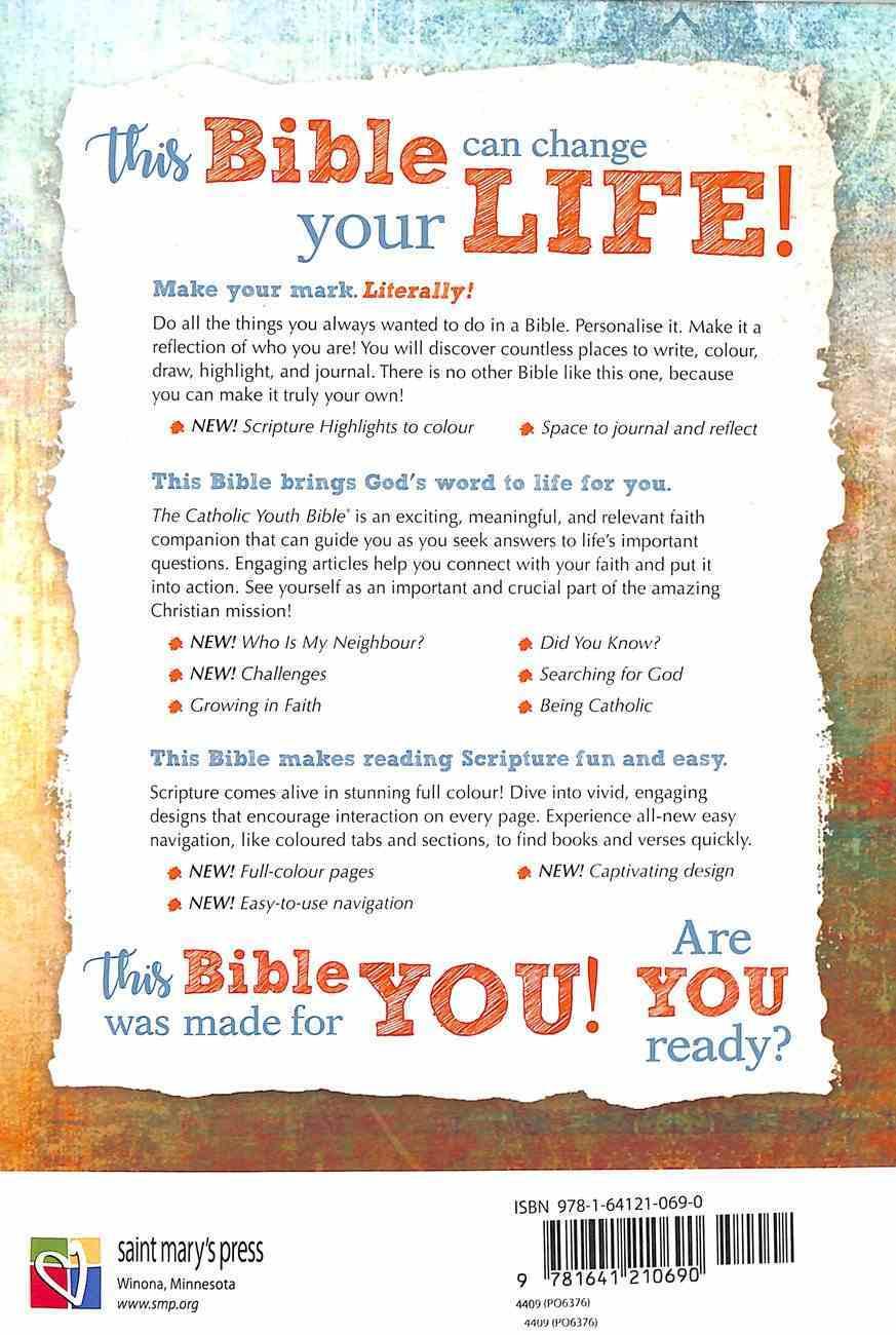 NRSV Catholic Youth Bible International Edition (4th Edition) Hardback