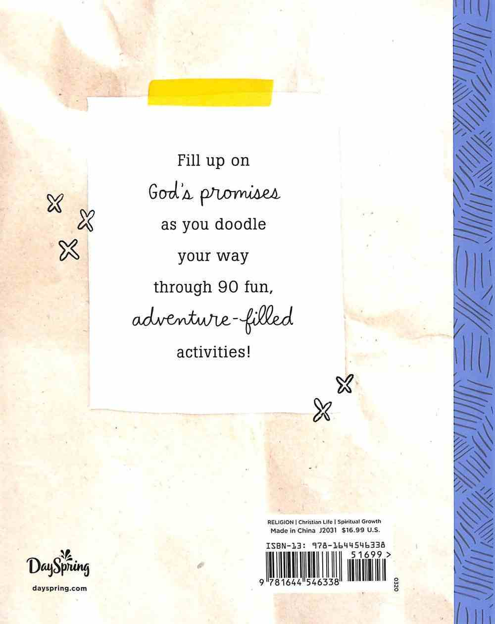 The Great Adventure Doodle Journal For Kids: Inspirational Journal Paperback