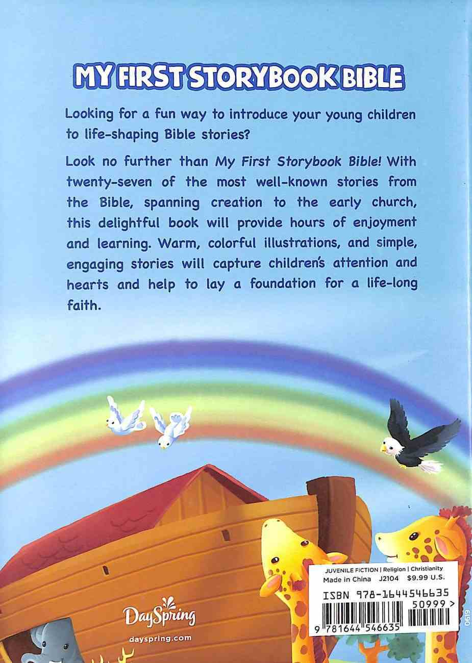 My First Storybook Bible: Sowing Faith in Our Little Ones Hardback