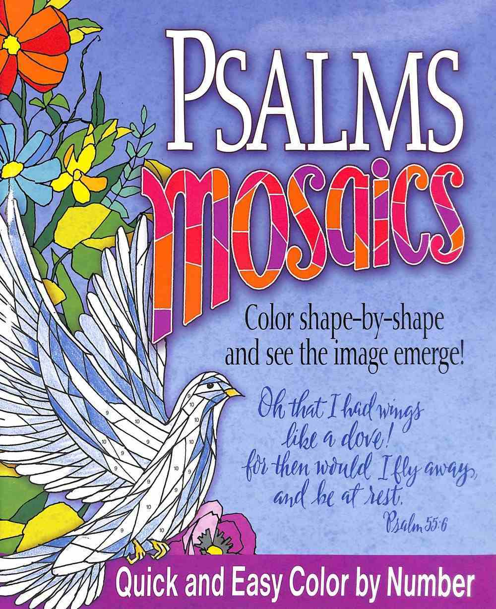 Acb: Psalms Mosaics: Color Shape-By-Shape and See the Image Emerge! Paperback