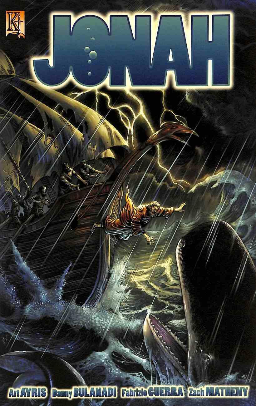 Jonah (The Kingstone Comic Bible Series) Paperback