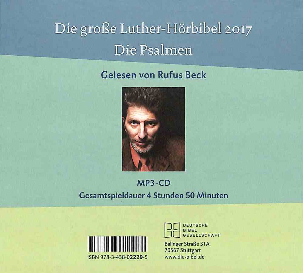 German Audio Bible - the Psalms CD