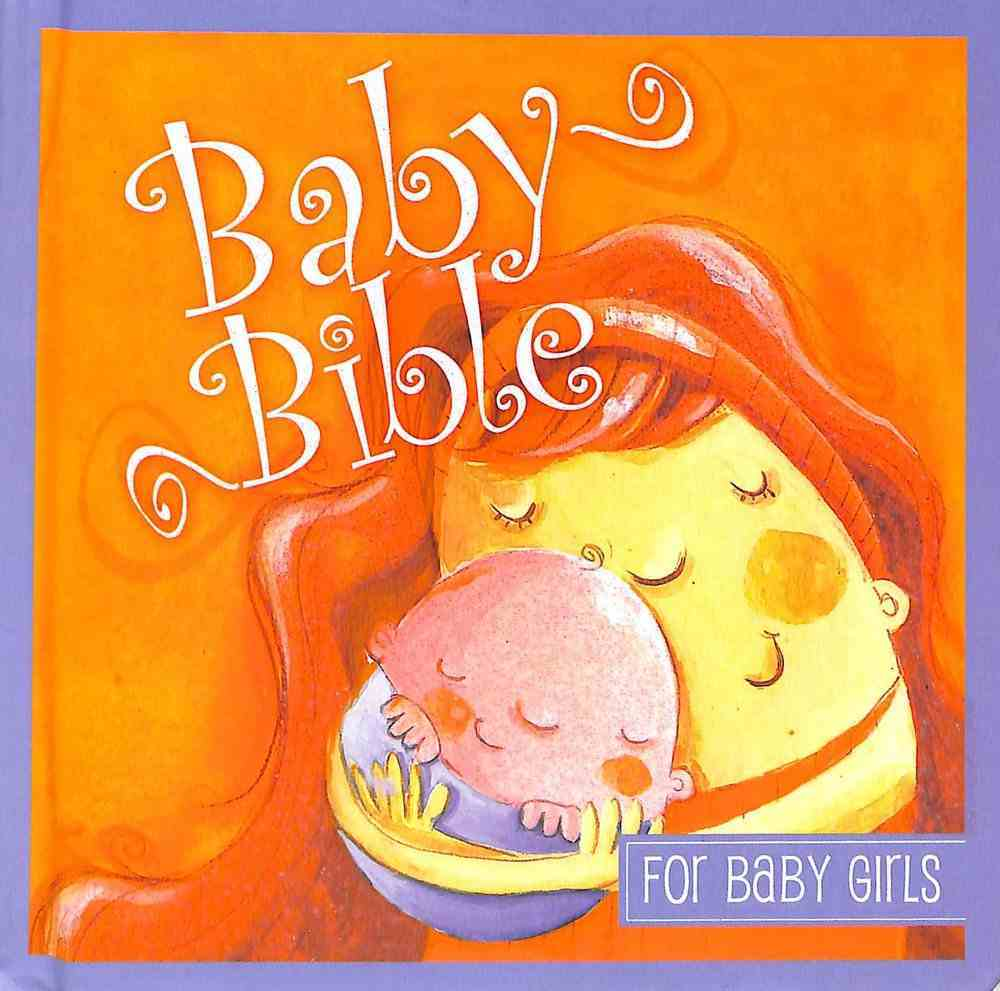 Baby Bible For Baby Girls (With Handle) Padded Board Book