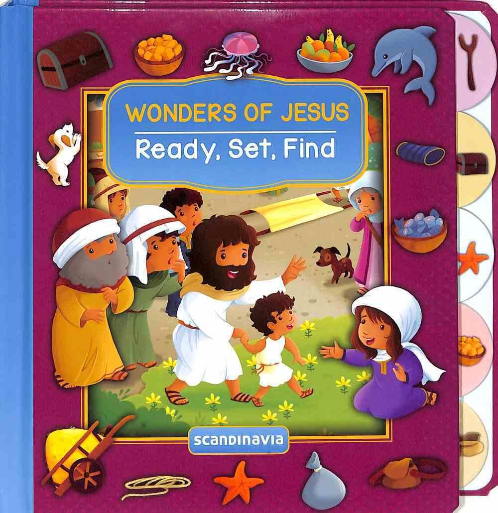 Wonders of Jesus (Ready, Set, Find Series) Board Book