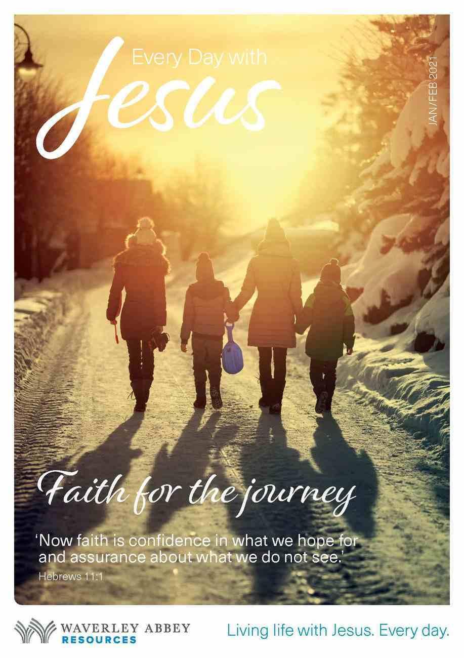 Jan-Feb (Large Print) (Every Day With Jesus Series) Magazine