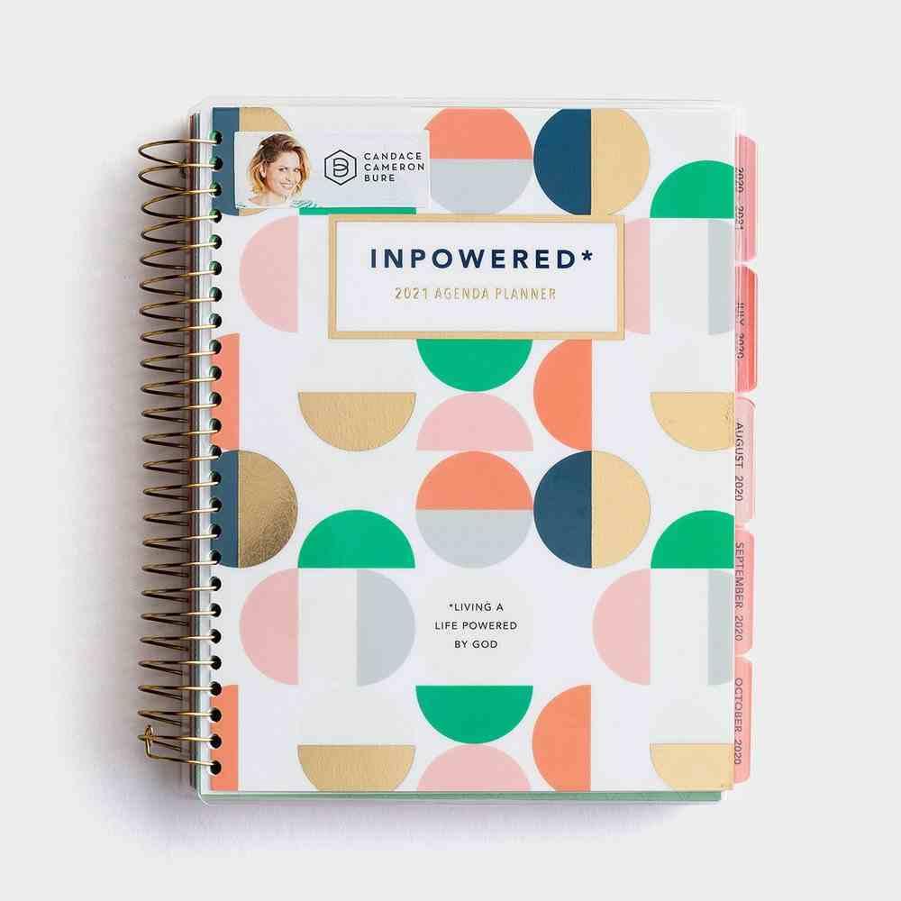 2021 18 Month Agenda Diary/Planner: Inpowered Spiral