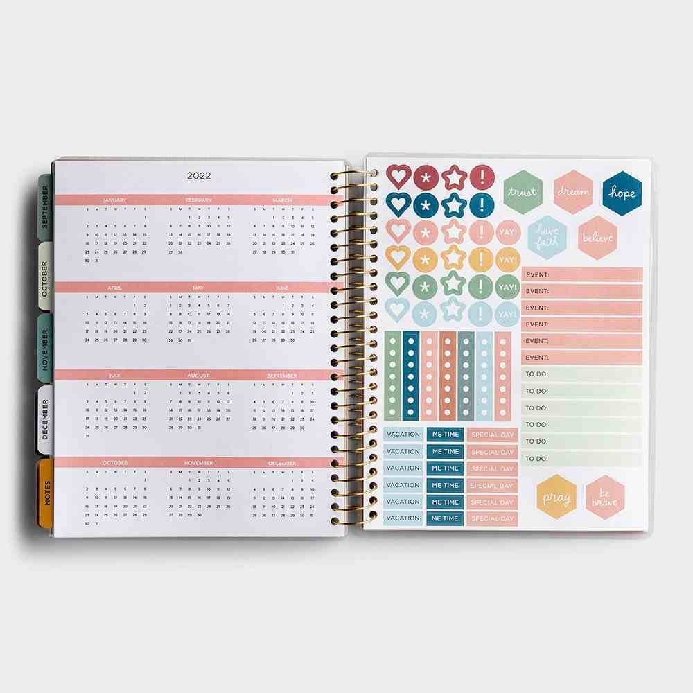 2021 18-Month Agenda Diary/Planner Spiral