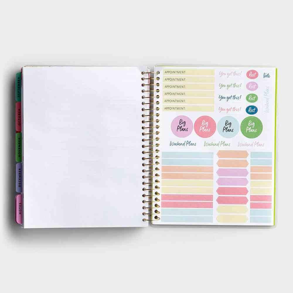 2021 18-Month Agenda Diary/Planner: Botanical Spiral