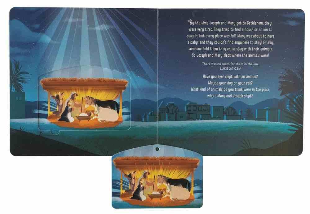 Jesus is Born Ornament Book Board Book
