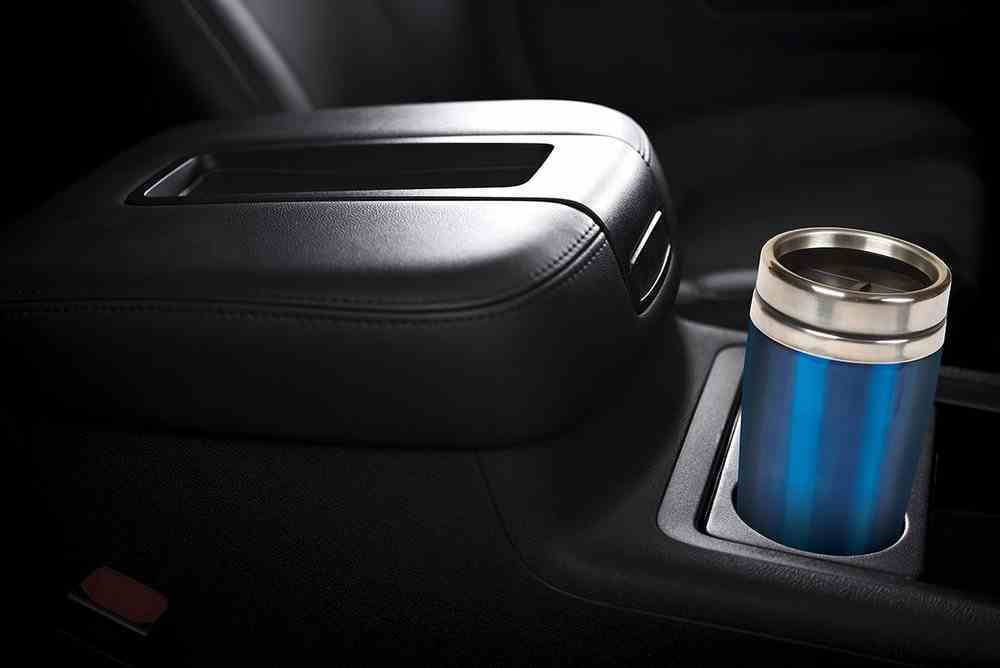 Stainless Steel Travel Mug: Blue With Silver Lid, 473 ML Homeware