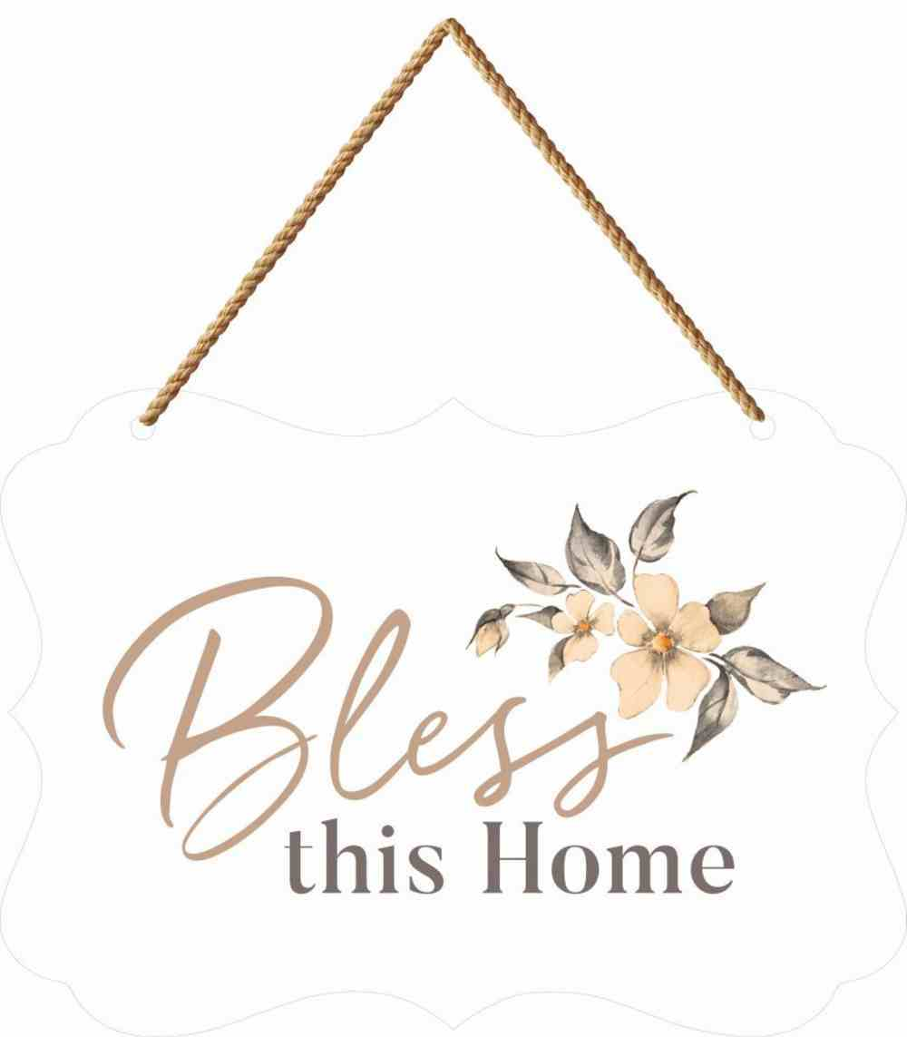 Bless This Home Boutique Hanging Sign Homeware