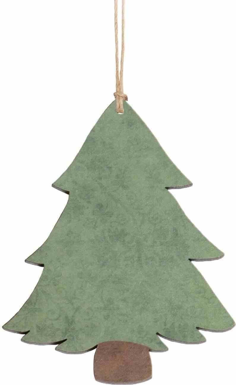 Christmas Mdf Ornament: Tree Homeware