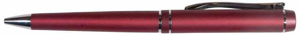 Pen: Red Metal Stationery