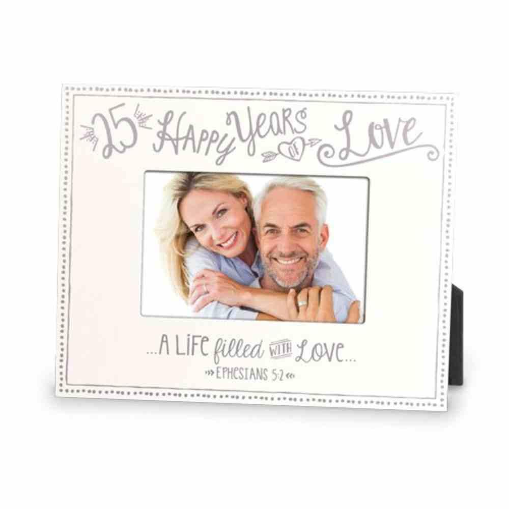 Mdf Frame: 25Th Anniversary Love (Eps 5 2) Homeware