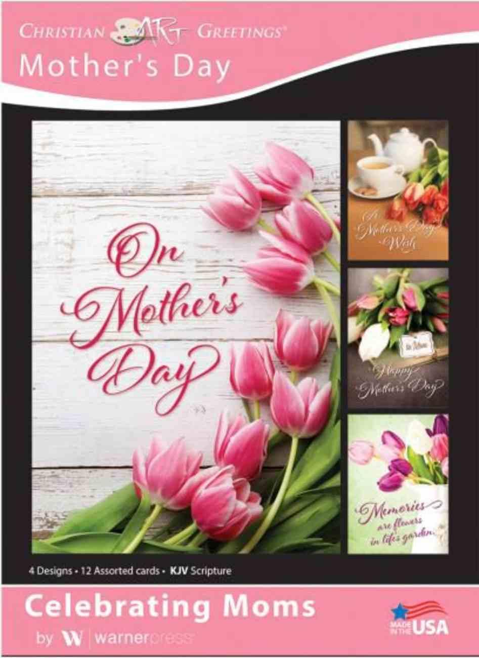 Boxed Cards: Mother's Day - Celebrating Mothers Tulips (Kjv/niv) Box