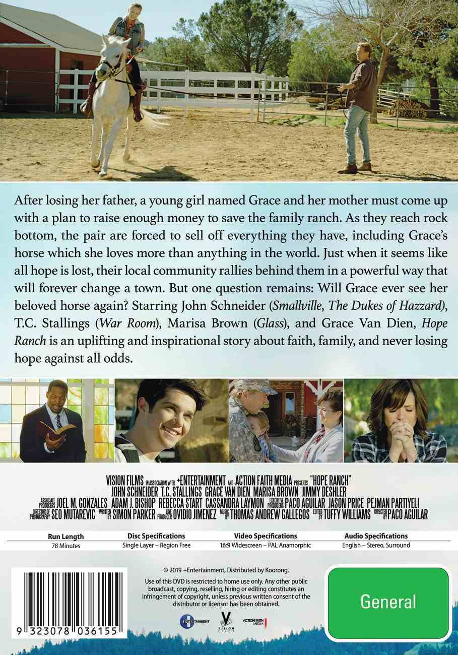 Hope Ranch DVD