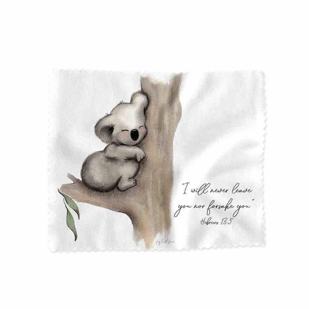 Lens Cloth Karla Koala (I Will Never Leave You- Heb 13: 5) (Australiana Products Series) Homeware