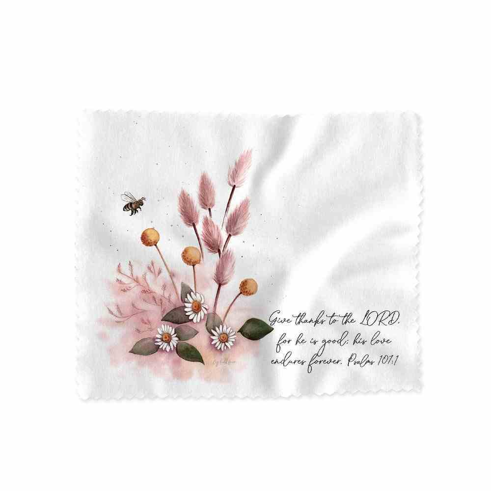 Lens Cloth (Give Thanks to the Lord Ps 107: 1) (Australiana Products Series) Homeware