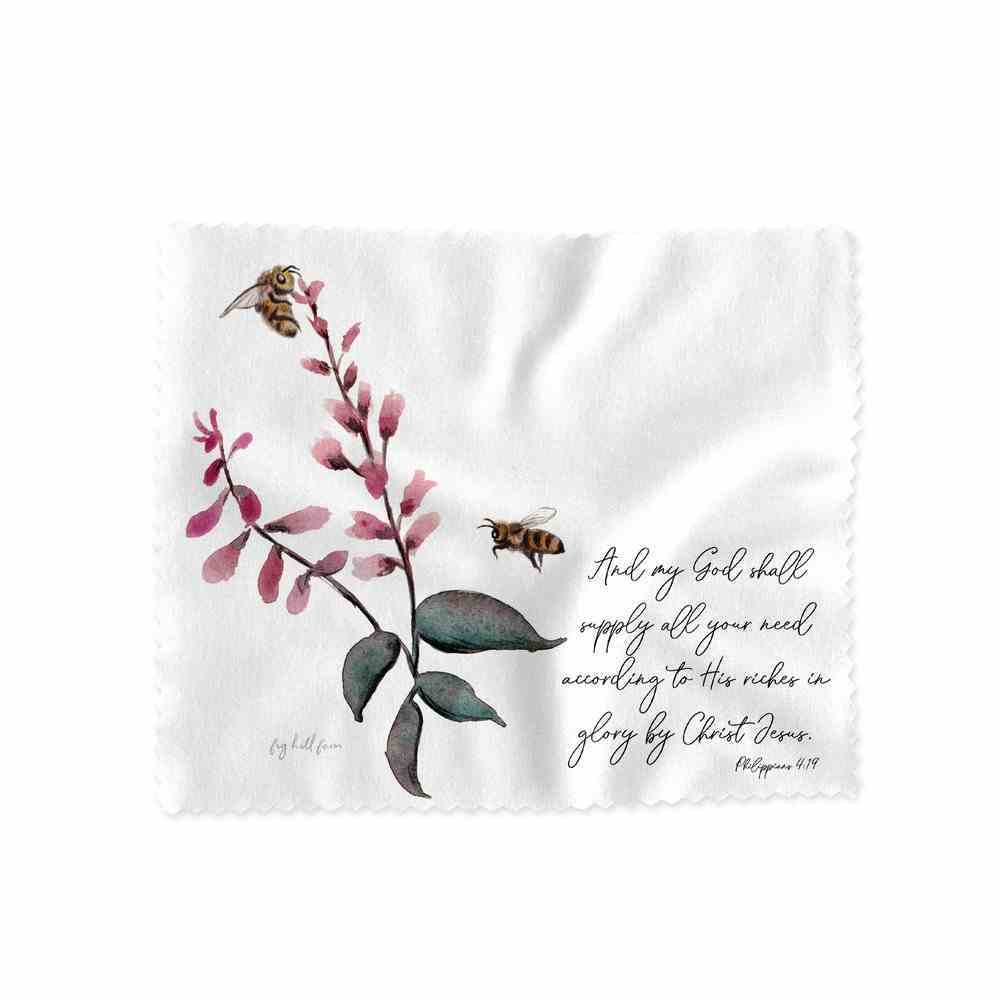 Lens Cloth (God Shall Supply- Phil 4: 19) (Australiana Products Series) Homeware