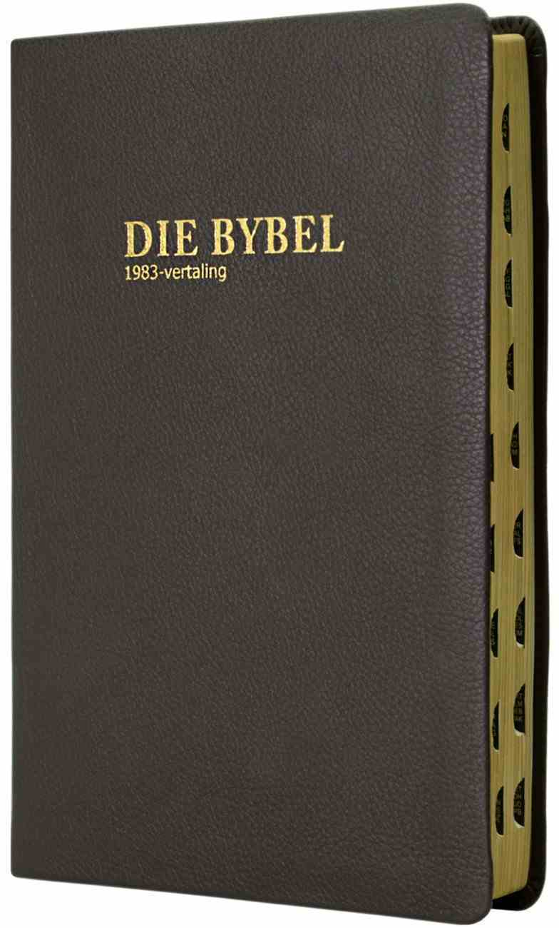 Afrikaans Bible 1983 Translation Thumb Index Genuine Leather