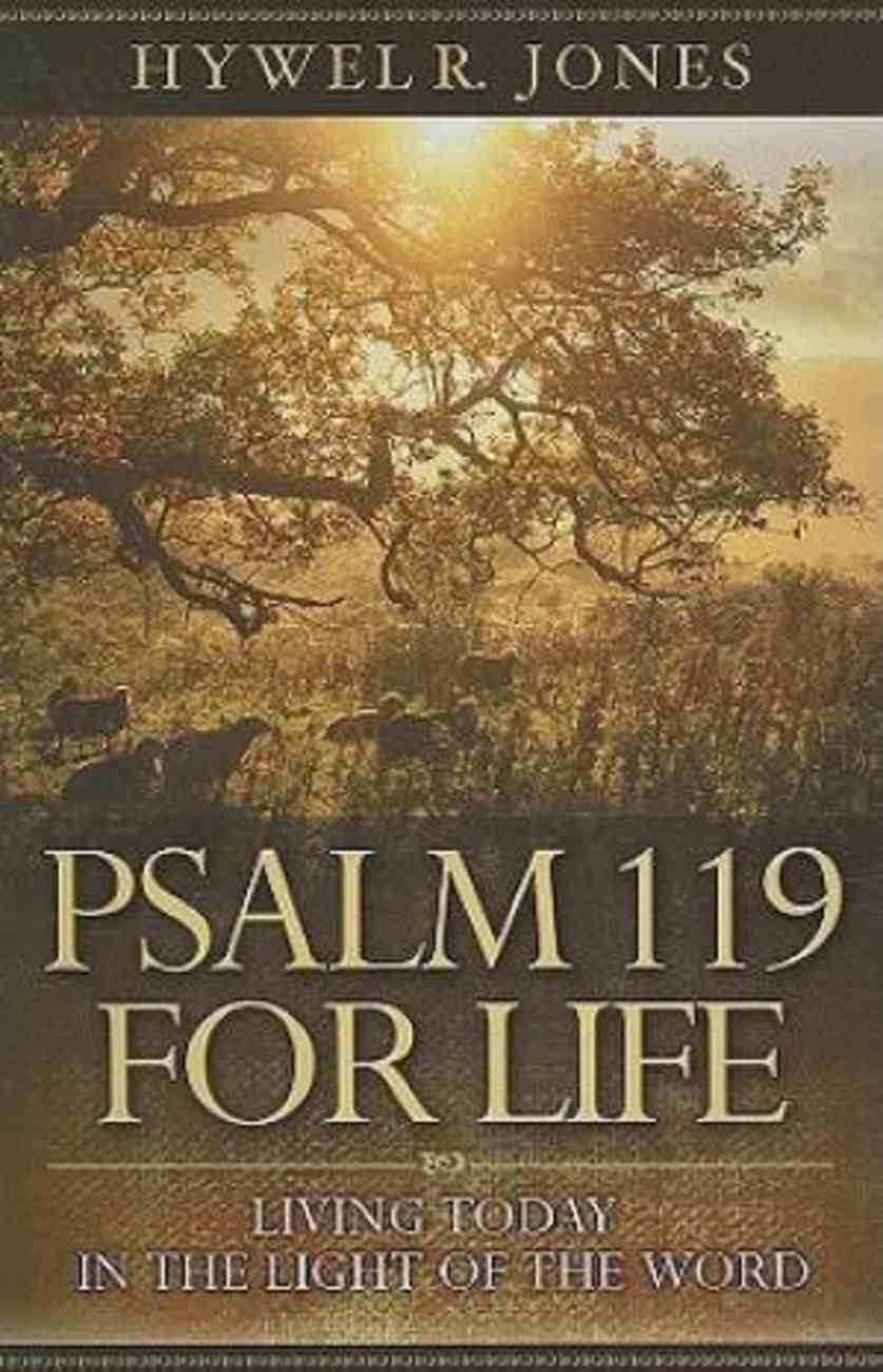 Psalm 119 For Life Paperback