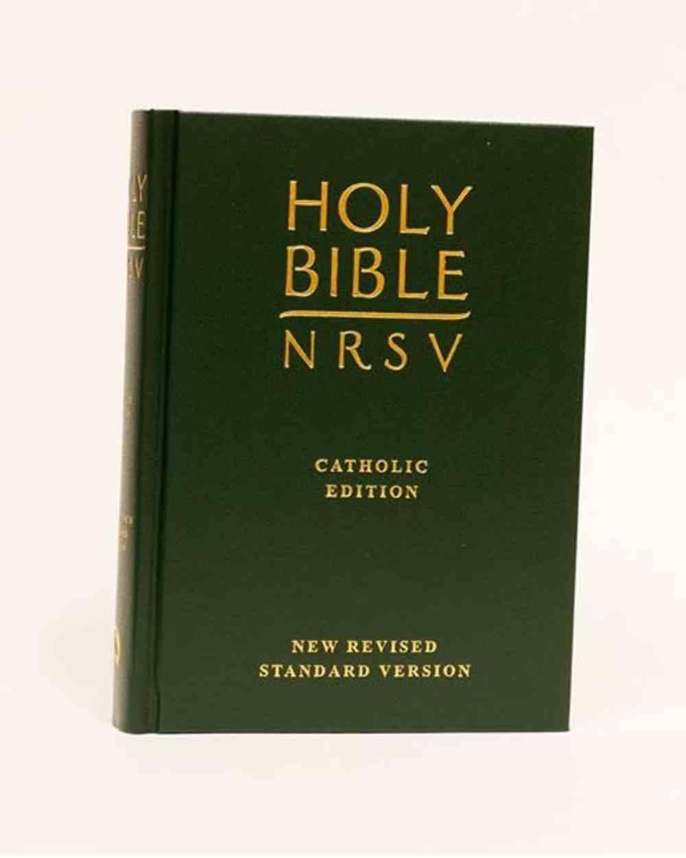 NRSV Catholic Bible With Deuterocanonical Books Forest Green Hardback