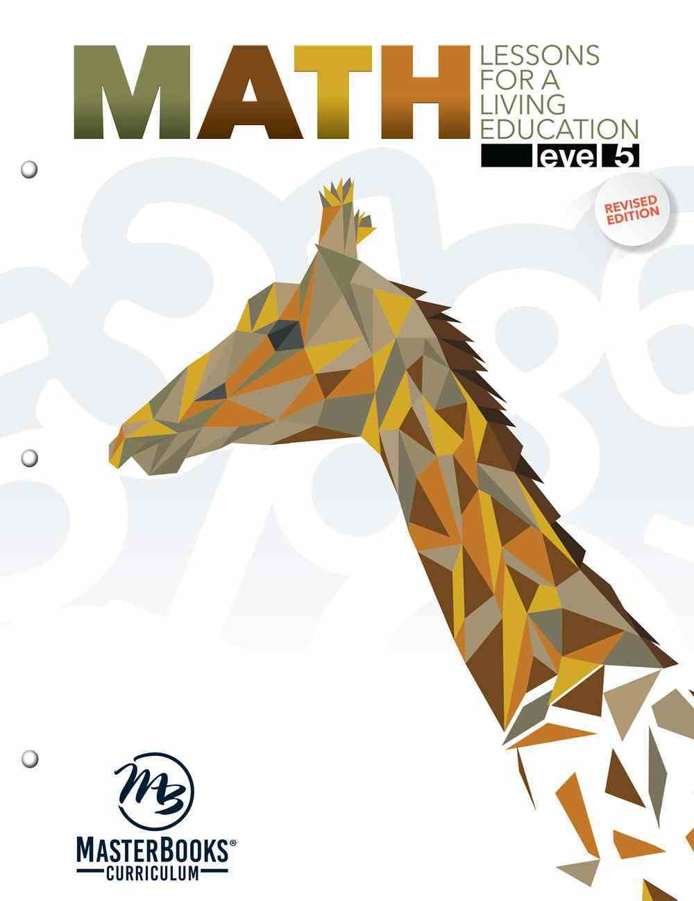 Math Level 5 (#5 in Lessons For A Living Education Series) Paperback
