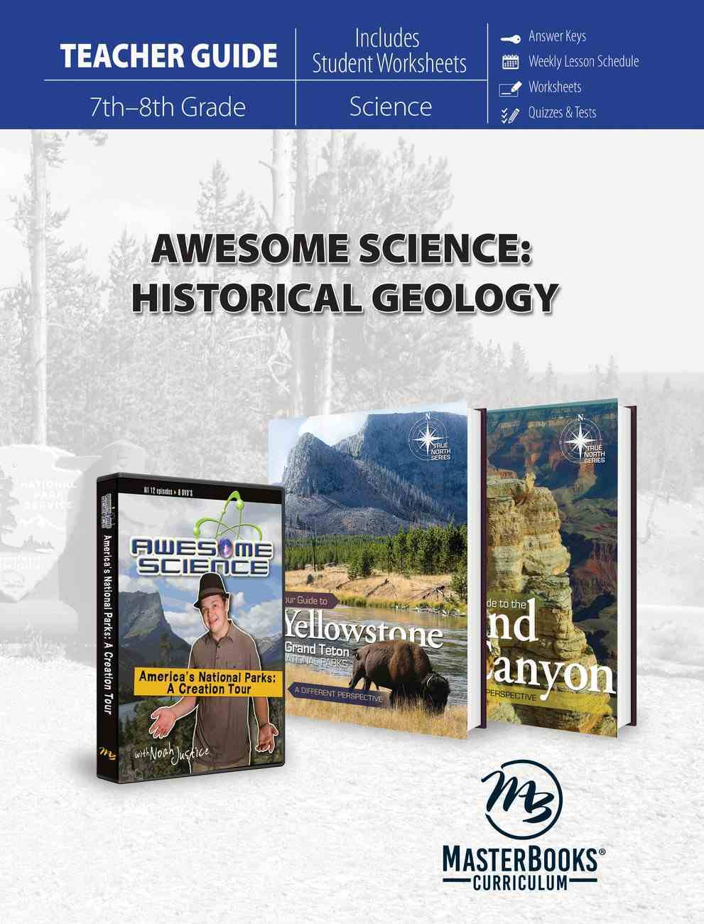 Historical Geology (Teacher's Guide) (Awesome Science Series) Paperback