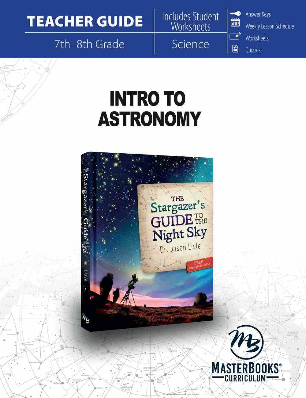 Intro to Astronomy (Teacher Guide) Paperback