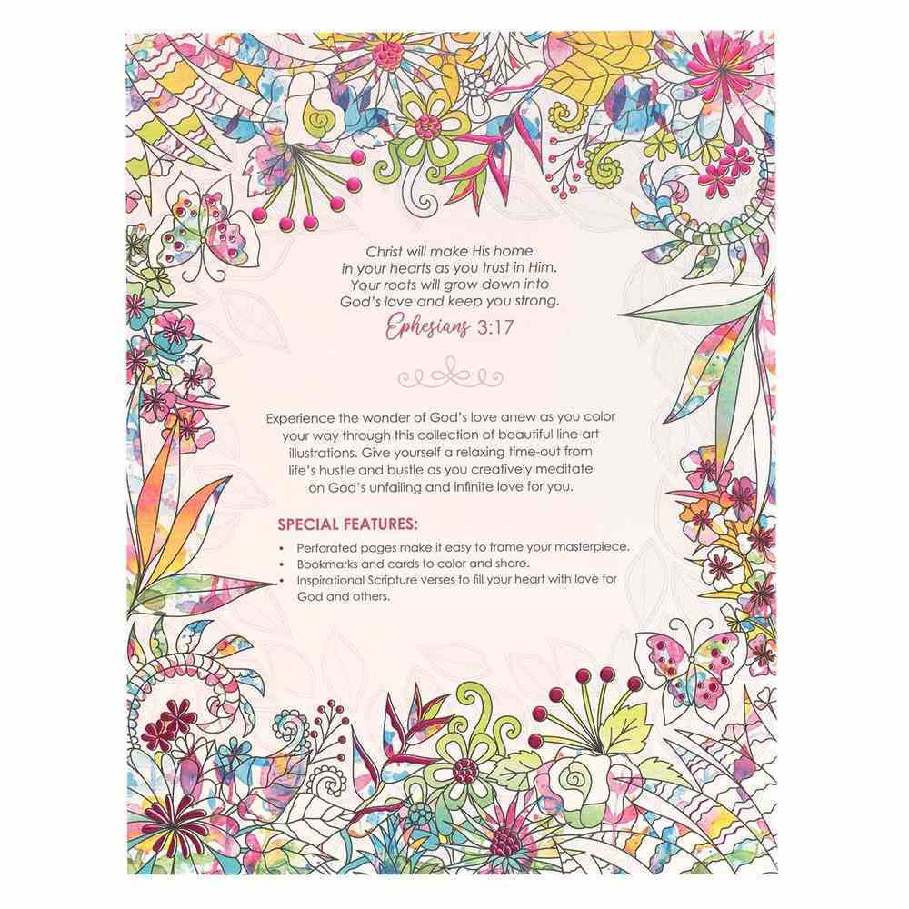 Acb: Where Love Blooms Coloring Book Paperback