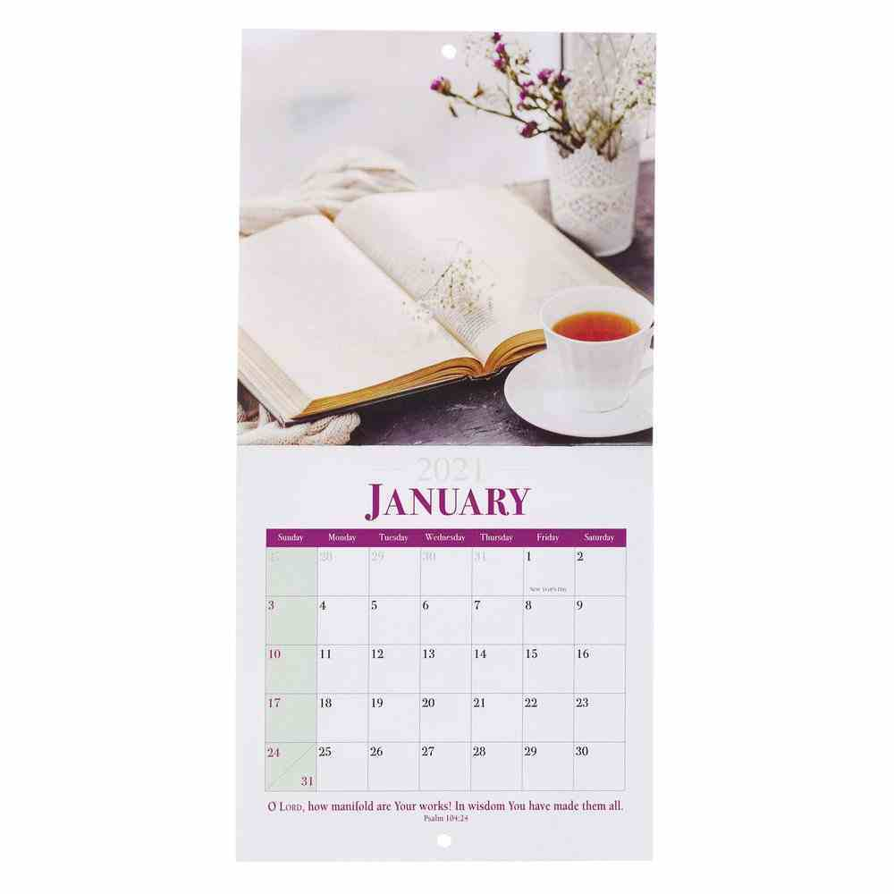 2021 12-Month Small Calendar: Bless This Home Calendar