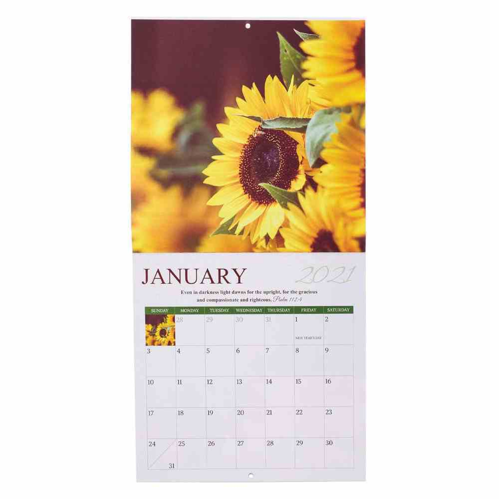 2021 12-Month Large Calendar: Joy Comes in the Morning Calendar