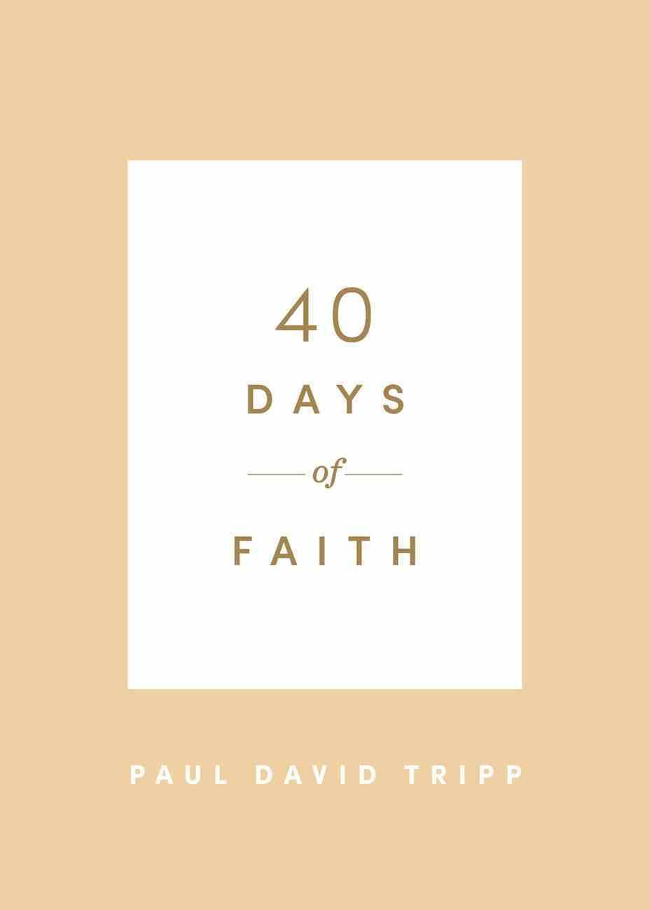 40 Days of Faith Paperback