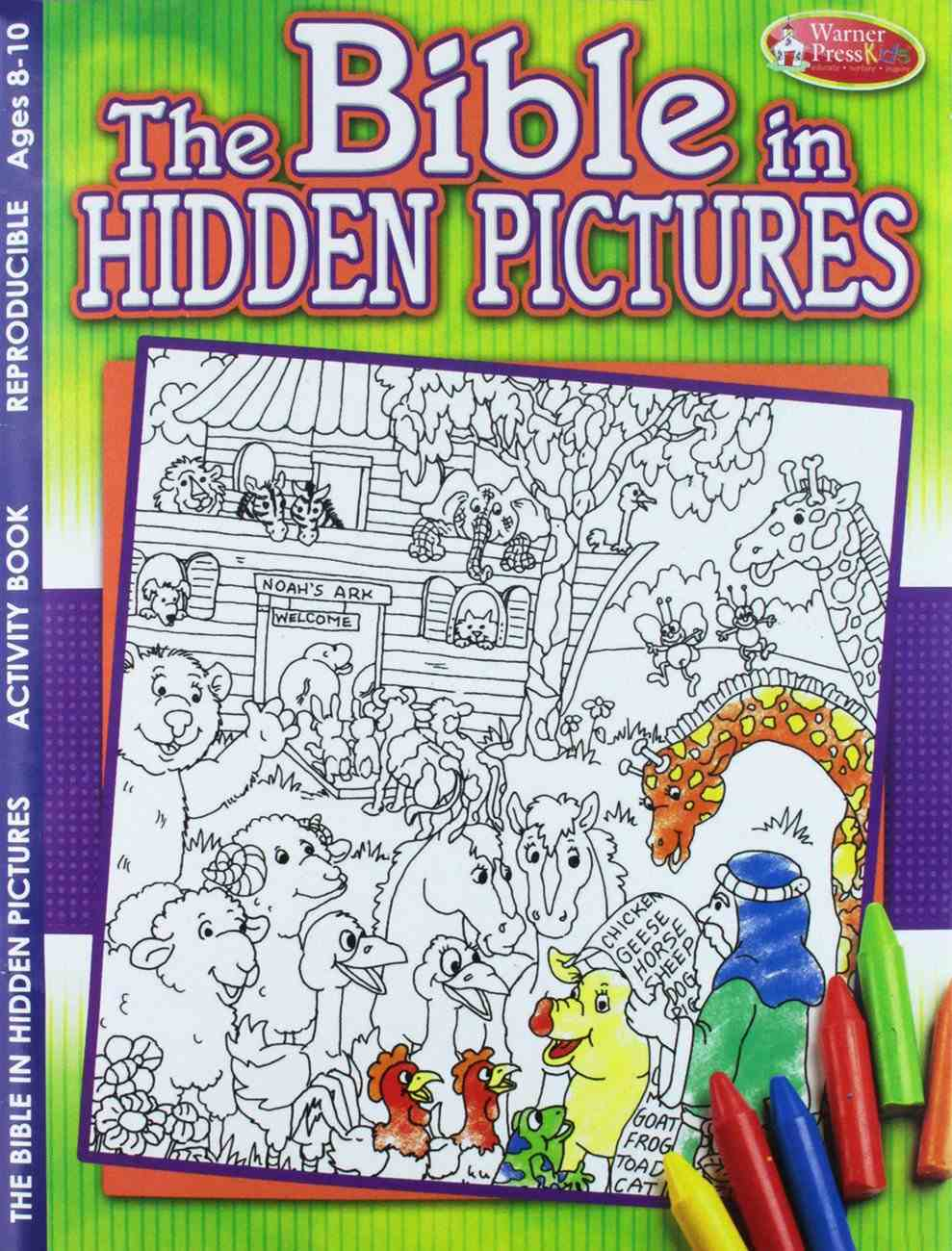 Activity Book: The Bible in Hidden Pictures (Reproducible) Paperback