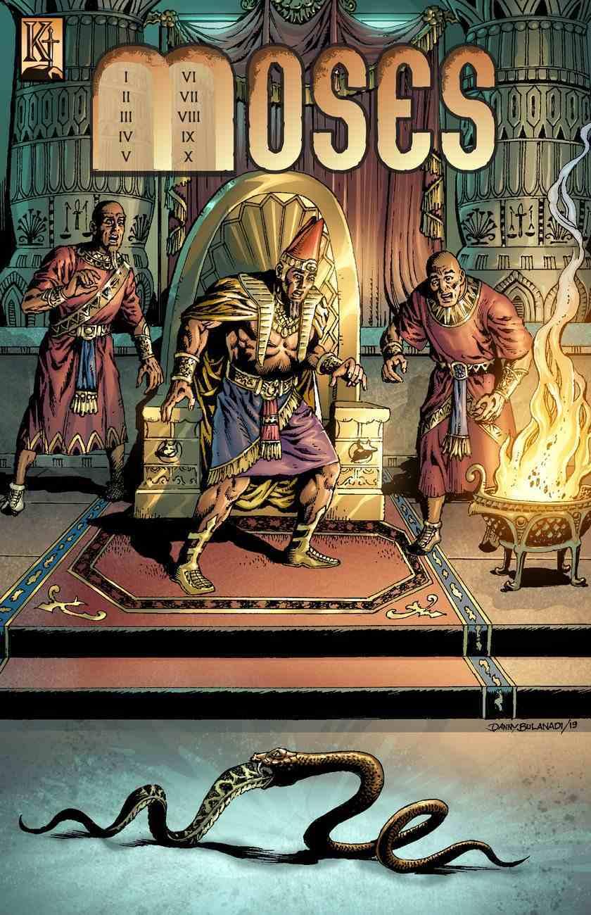 Moses (The Kingstone Comic Bible Series) Paperback