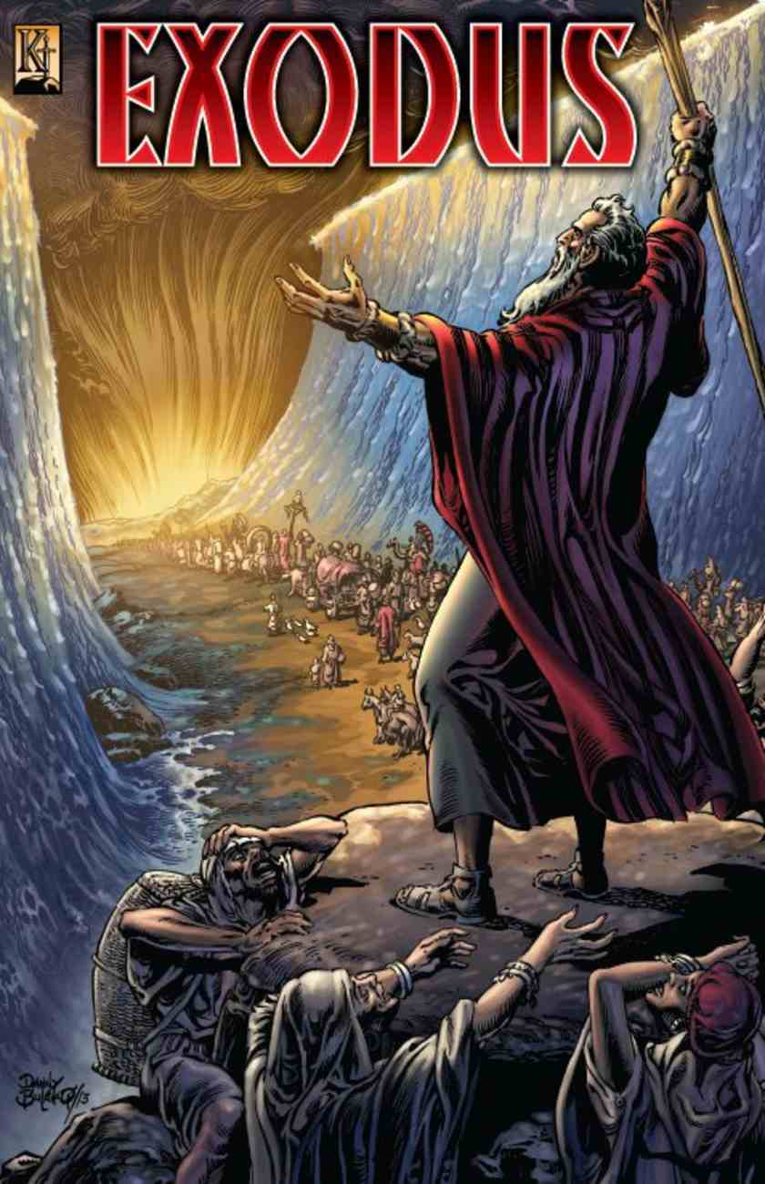 Exodus (God Leads Israel Through the Red Sea) (The Kingstone Comic Bible Series) Paperback