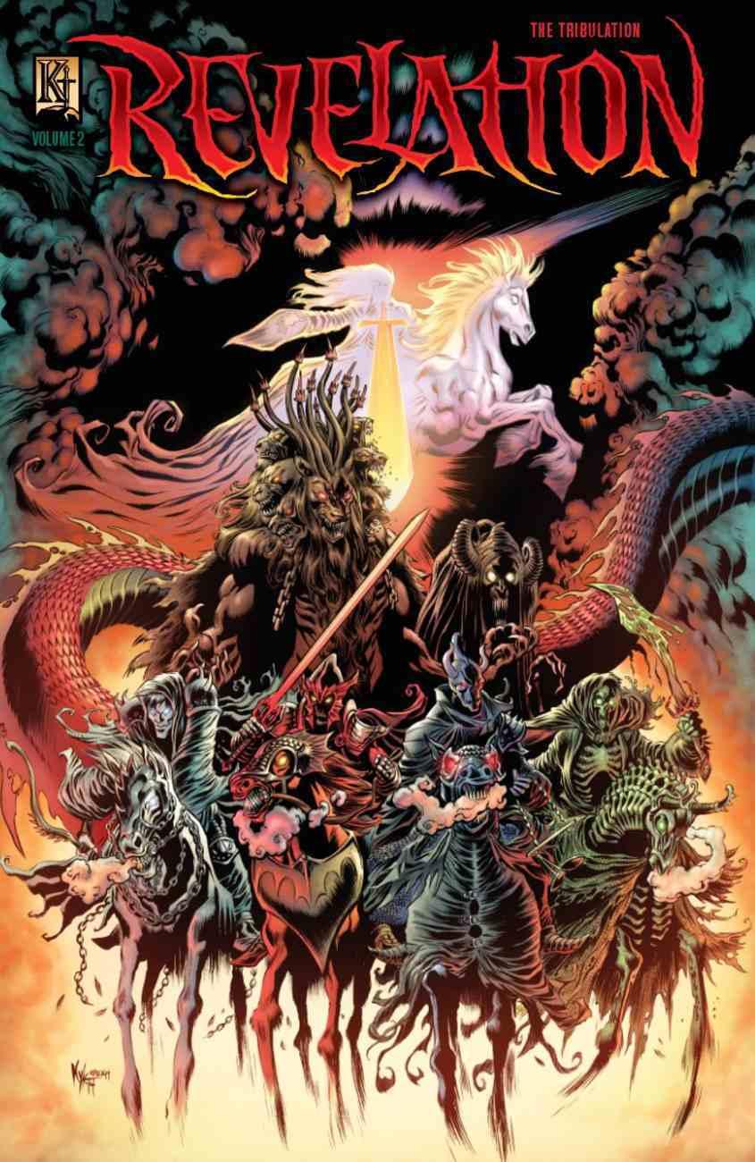 Revelation 2 - Tribulation (The Kingstone Comic Bible Series) Paperback