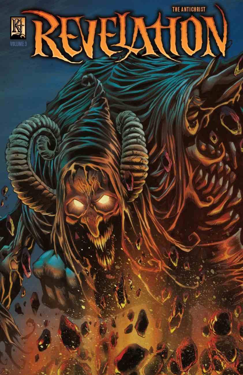Revelation 3 - Antichrist (The Kingstone Comic Bible Series) Paperback