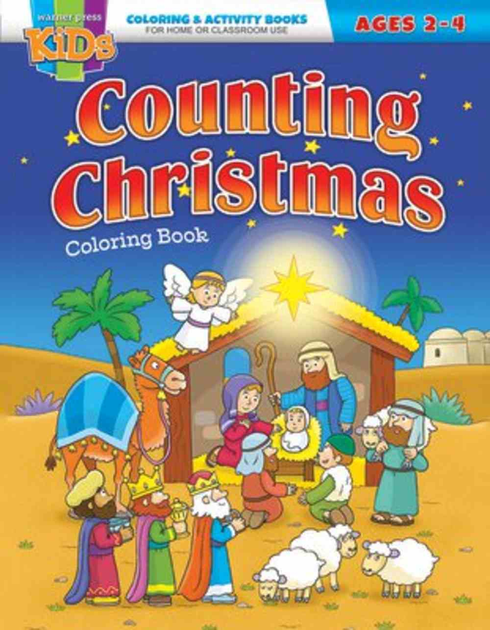 Counting Christmas (NIV, Ages 2-4 Reproducible) (Warner Press Colouring/activity Under 5's Series) Paperback