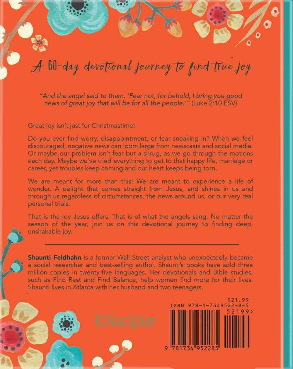 Find Joy: A Devotional Journey to Unshakable Wonder in An Uncertain World Hardback