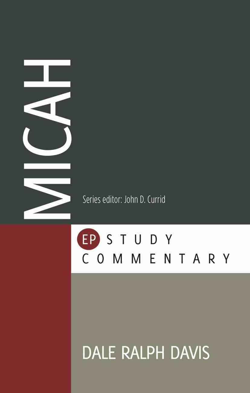 Micah (Evangelical Press Study Commentary Series) Paperback