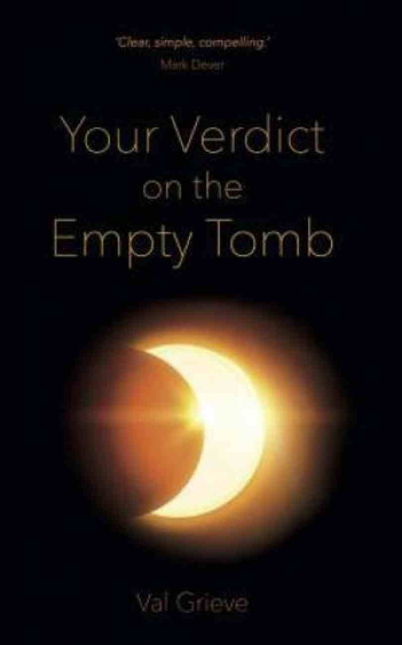 Your Vedict on the Empty Tomb Paperback
