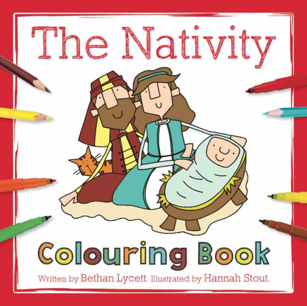 The Nativity (Colouring Book) Paperback