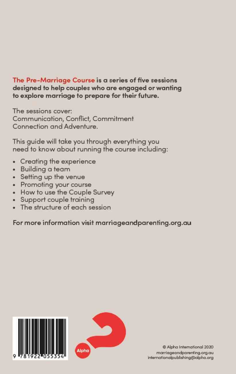 Pre-Marriage Course Revised 2020 (Leader's Guide) Paperback