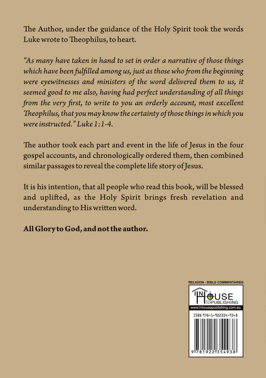 The Life of Jesus: A Simple Narrative Paperback