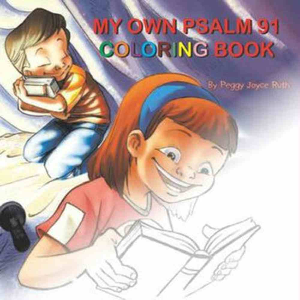 My Own Psalm 91 Coloring Book Paperback