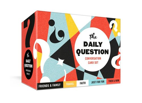 Product: Daily Question Conversation Card Set, The Image